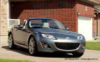 2011 Mazda MX-5 Miata GT Special Version Convertible