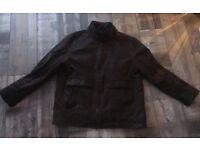 John rocca leather jacket XL