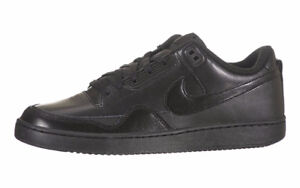 Nike Alphaballer Low - All Black Leather Shoes - Value of $120