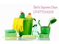 Shirley Supreme Clean - Experienced domestic cleaning / personal service