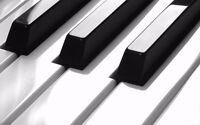 Piano Lessons on a grand piano - Sign up now for September