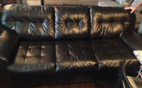 Bonded Leather Sofa and Loveseat -$350 OBO