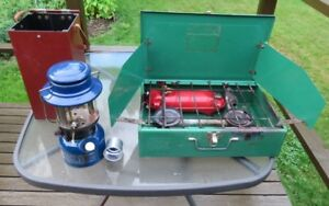 Coleman Gas Stove and Lantern