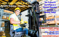 Forklift Training + Licence + JOBS -- Renewals + New Operators