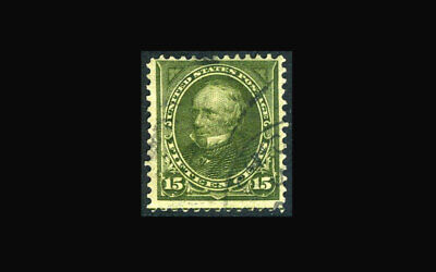 US Stamp Used, F/VF+ S#284 light cancel, very attractive