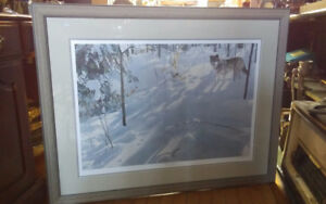 "DUCKS UNLIMITED ""SNOW SHADOWS"" BY CLINTON JAMMER LIMITED EDITION"