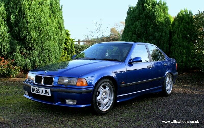 Restored Avus Blue 1995 Bmw E36 M3 Saloon In Dungannon County