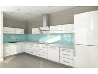 Acrylic High Gloss 19 mm Thick Slab Door - 5 Kitchen Cabinets Package Offer - NEW -