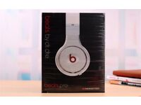 Beats By Dr Dre Pro Monster White NEW BOXED