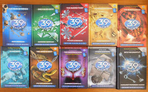 39 Clues Hardcover Books (15)- Excellent Condition