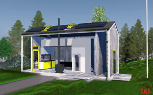 1,5 store micro house for sale