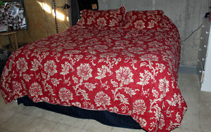 King Size Bed Mattress and Frame