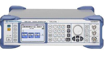 Rohde Schwarz Smb100a 9khz - 6ghz Signal Generator