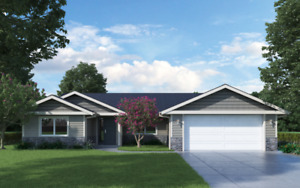 **New Home**    3 BDRM Rancher Under Construction