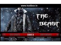 THE BEAST- Amazon Fire TV Stick Fully Loaded KODI Movies/LiveSports/kids