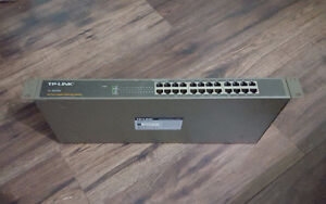 Used TP-Link (TL-SG1024) 24-Ports 1000MB Ethernet Switch