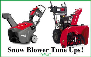 Snowblower repairs done right. 613 835 9939