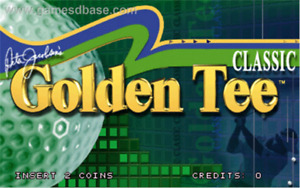 Golden tee with 18 courses plus hundreds of arcade games