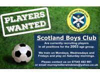 2003 football players wanted