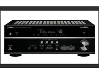YAMAHA RX-V581 - SURROUND SOUND AV RECEIVER & YAMAHA SPEAKERS