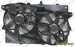 Cooling Fan Assembly With Tow Package Lincoln  MKZ 2007-2009