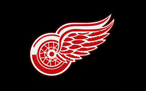 2 tickets Detroit Red Wings vs Dallas Stars section 204B Row 10 Windsor Region Ontario image 1