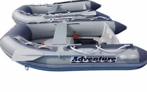 NEW inflatable boat 7.5 feet. Adventure D230C inflatable boat.
