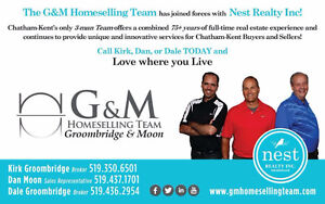 "THINKING REAL ESTATE?   THINK ""G & M HOMESELLING TEAM"""
