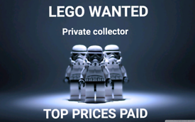 Lego wanted private collector