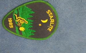 Starlte Merit badge from 1985