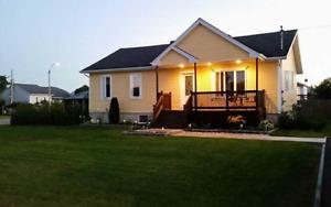 Maison 26x42 garage 20x30