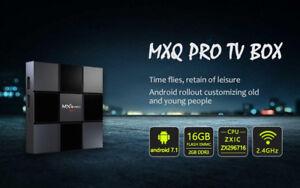 MXQ PRO 4K UHD Quad Core 2GB /16GB ANDROID BOX 7.1