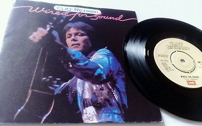 "Cliff Richard ""Wired for sound"". 7"" vinyl single. EMI 5221 1981 EX PLUS ➕"