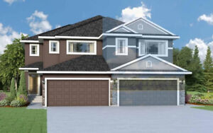 RED TAG PRICE!!!! NEW DUPLEX with DOUBLE GARAGE in McConachie!!