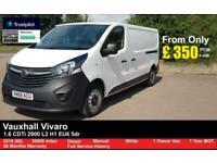 2018 Vauxhall Vivaro 1.6 CDTi 2900 L2 H1 EU6 5dr PANEL VAN Diesel Manual