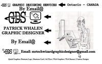 Graphic Designing Services by Email - fast delivery