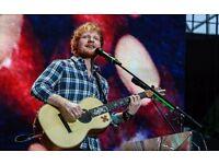 2 x Seated tickets for Ed Sheeran - Birmingham 29th April 2017
