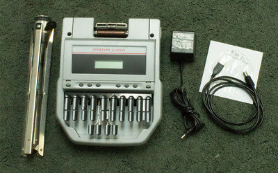 Stenograph Stentura Protege with accesories. Use paperless