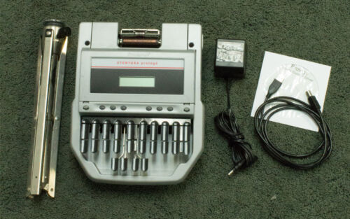 Stenograph Stentura Protege Steno Writer with accessories