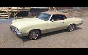 NEW PRICE 1972 BUICK SKYLARK CUSTOM CONVERTABLE