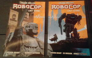 Robocop the last stand, Frank Miller, comic, graphic novel 2 vol