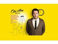 Jon Richardson: Old Man @ Kings Theatre Portsmouth 18/10/17 Dress Circle Row A *Face Value*