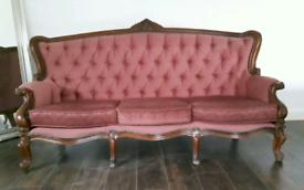 Antique Chaise Chair