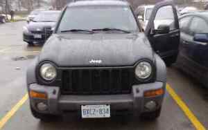 2004 Jeep Libarty 4x4