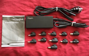 Rocketfish Universal 90W Laptop Power Adapter Used Once