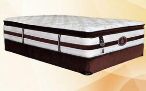 Orthopedic Pillow Top Pocket Coil Mattress - Siesta King / Beige
