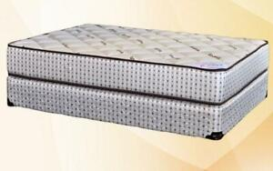 Orthopedic Deluxe Bamboo One Sided Mattress Queen / Beige