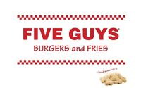Five Guys Burgers and Fries full and part time spots
