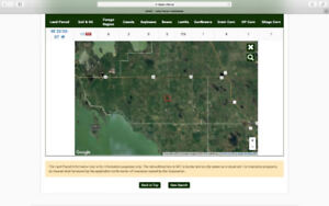 480 acres vacant land west of Eriksdale