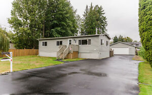 Clean and Cozy 3 Bedroom Mobile Home Located on Large Private Lo